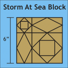 Storm at Sea block
